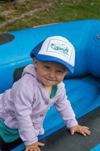 On the Water Toddler/Baby Trucker Hat, Ani Eastwood