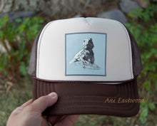 Load image into Gallery viewer, Desert Spiny Lizard Trucker Hat, Ani Eastwood