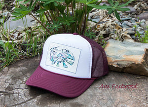 Desert Southwest Trucker Hat, Ani Eastwood