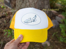 Load image into Gallery viewer, Baby/ Toddler Heron Trucker Hat