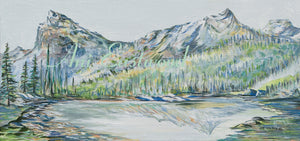 """Backcountry"" 2020 Ani Eastwood, Original and Giclees"