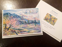 "Load image into Gallery viewer, ""Salmon Lake, Montana"" 5x7 Greeting Cards (Singles or 3 Pack). Ani Eastwood"