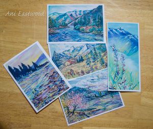 Montana Landscapes Card Assortment Pack, Ani Eastwood