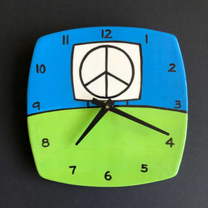 Green Wall Clock, Glenn Parks