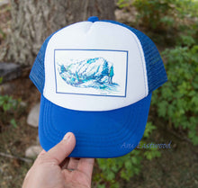 Load image into Gallery viewer, On the Water Toddler/Baby Trucker Hat, Ani Eastwood