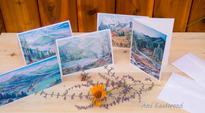 In the Mountains Greeting Card 5 Pack: Ani Eastwood