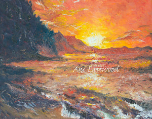 """Red Waters""  2011 Ani Eastwood"