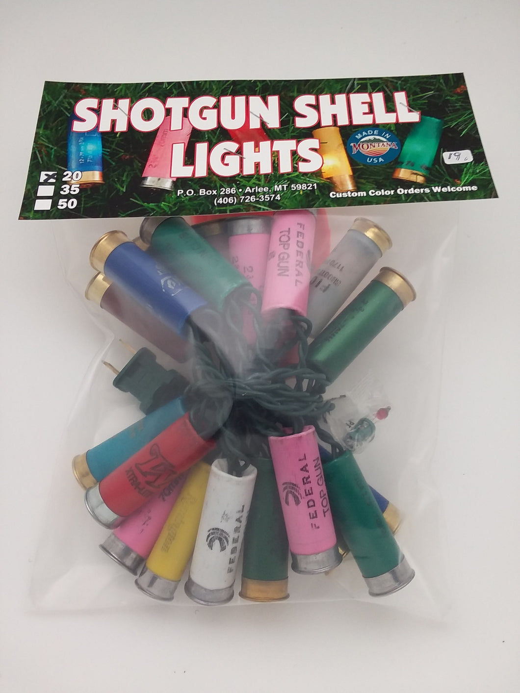 Shotgun Shell Lights 20 count