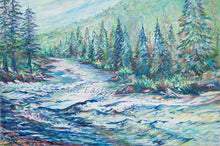 "Load image into Gallery viewer, ""Tibido Rapid at High Water, Blackfoot River Montana"" 2020 Ani Eastwood"