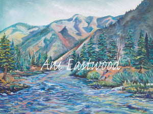 """Wild and Scenic"" Single Card & 3 Pack. Ani Eastwood"