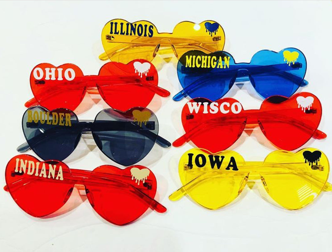 College Personalized Sunnies