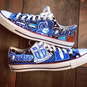 Personalized College Sneakers