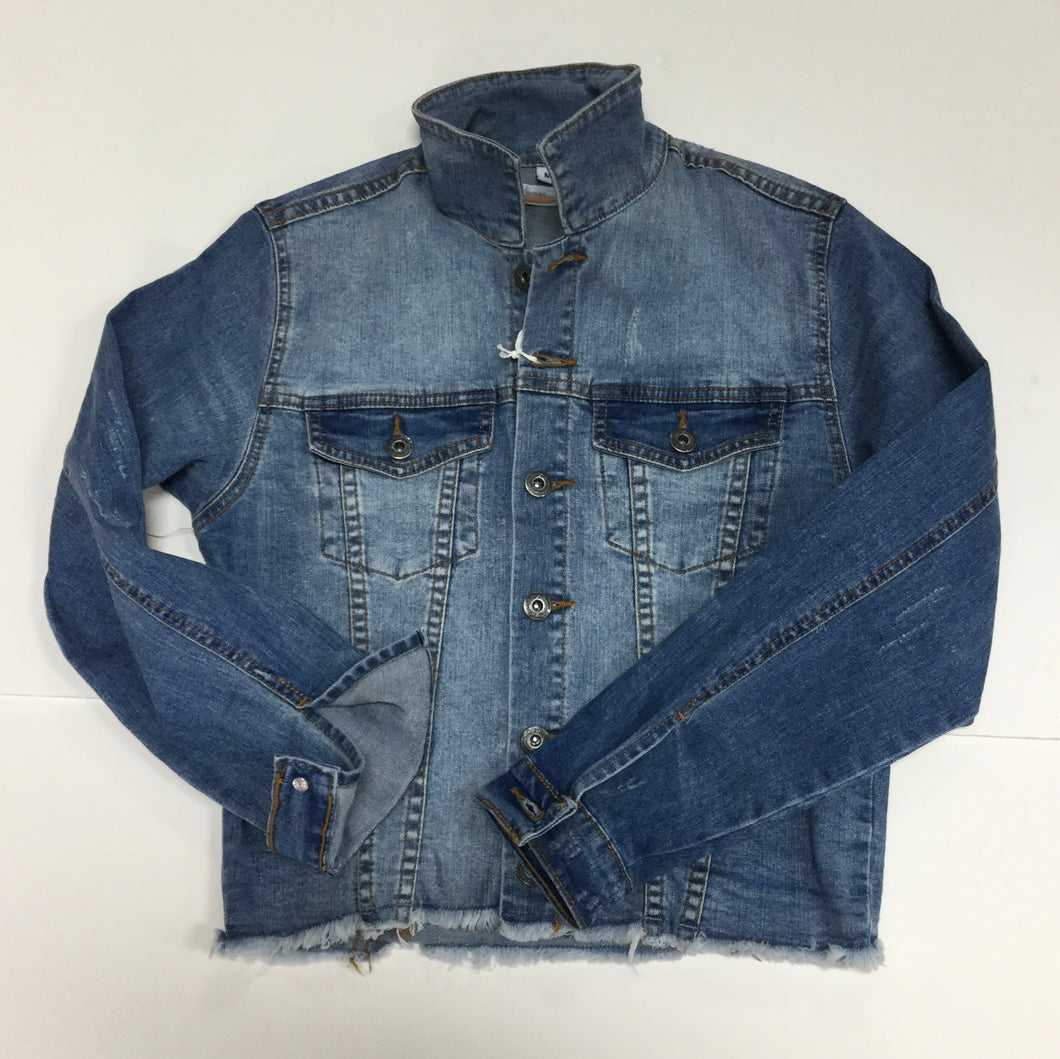 Vintage Havana Distressed Denim Jacket