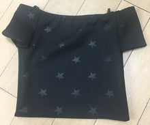 Load image into Gallery viewer, By Debra Off Shoulder Kids Star Top