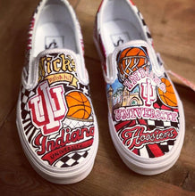 Load image into Gallery viewer, Personalized College Sneakers