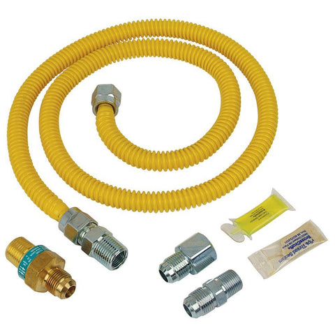 "48"" Gas Line - For Gas Dryers"