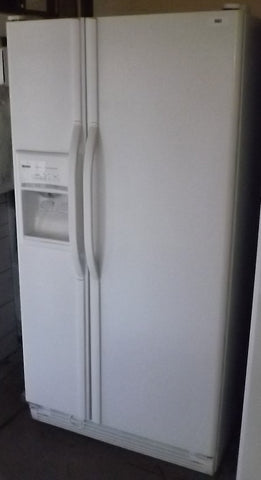 i803 Kenmore White Side by Side Refrigerator