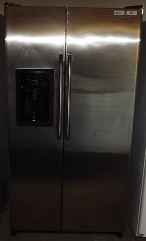 i807 GE Stainless Steel Side by Side Refrigerator