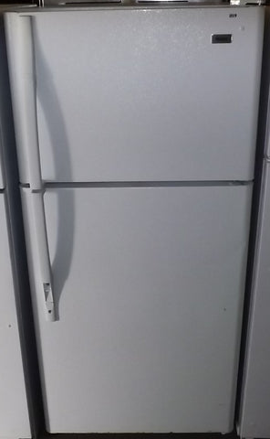 i819 Haier White Top Bottom Refrigerator
