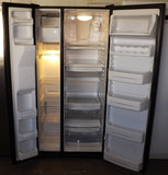 i830 GE Black Side by Side Refrigerator