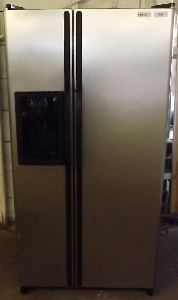i849 GE Satin Finish Side by Side Refrigerator