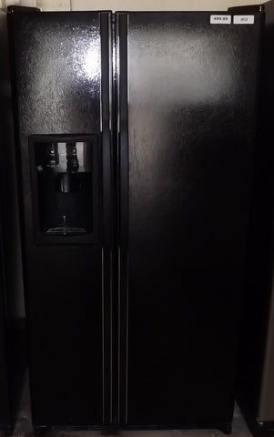 i853 GE Black Side by Side Refrigerator