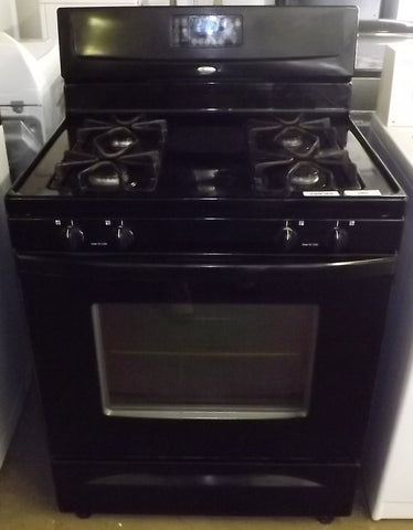 i901 Whirlpool Black Gas Stove