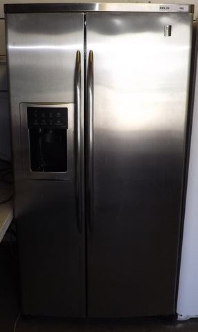 i962 Kenmore Stainless Steel Side by Side Refrigerator