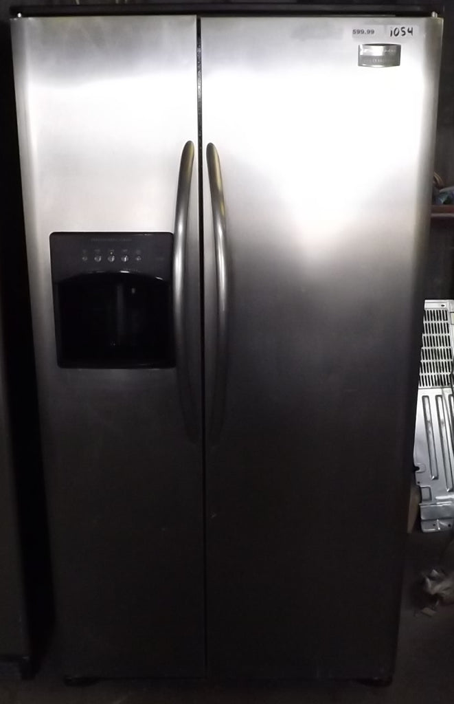 i054 Frigidaire Stainless Steel Side by Side Refrigerator