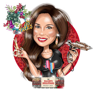 Holiday Decorator Logo - portraitlogo.com