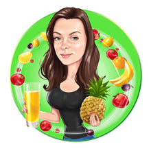 Load image into Gallery viewer, Dietitian Logo - portraitlogo.com