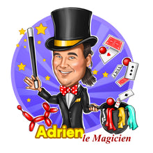 Load image into Gallery viewer, Magician Logo - portraitlogo.com