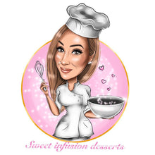Load image into Gallery viewer, Dessert Maker Logo - portraitlogo.com