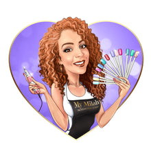 Load image into Gallery viewer, Hair Extension Professional Logo - portraitlogo.com