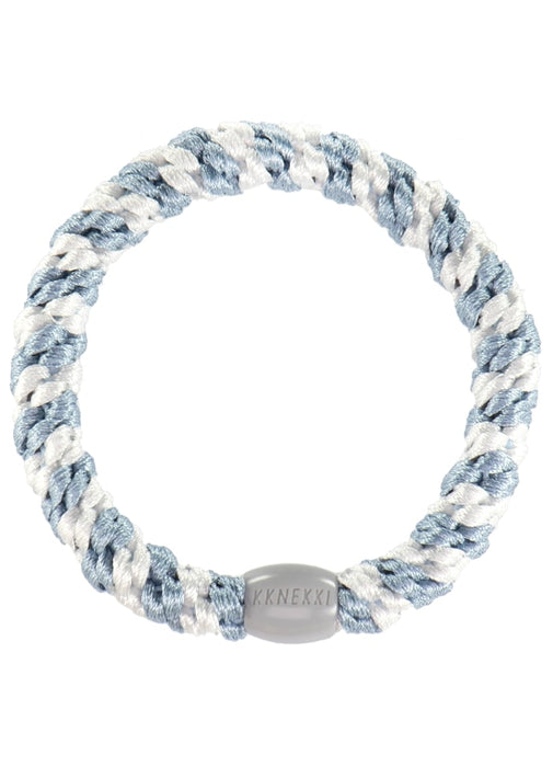 Kknekki hair ties Sea blue-white