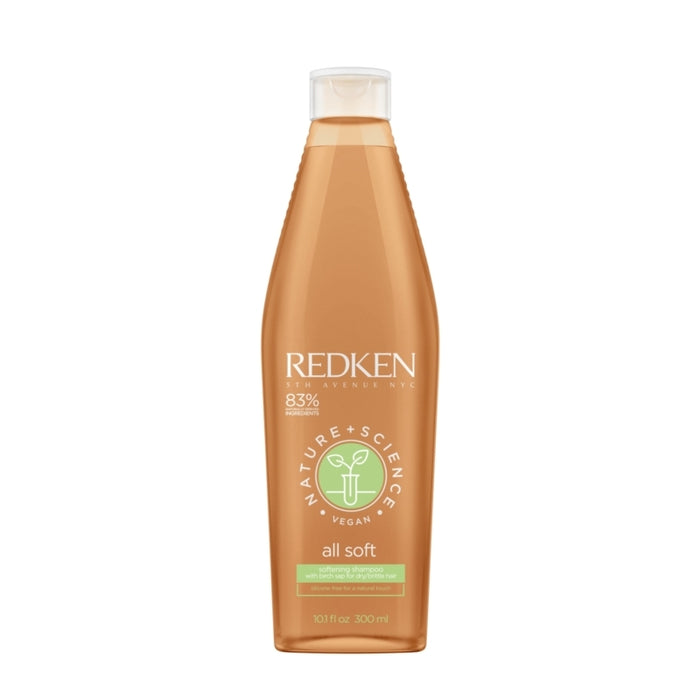 Redken Nature+ Science All Soft Shampoo 300 ml
