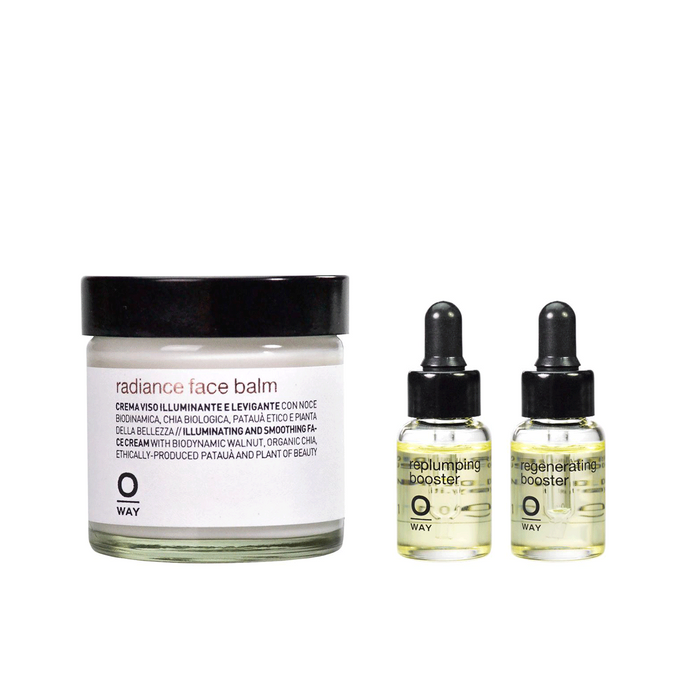 O-Way Beauty Radiance Face Balm kit 50+5+5 ml