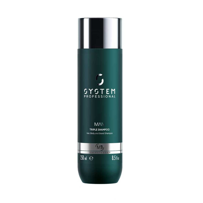System Professional Man Tripple Shampoo 250 ml