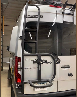 Ladder Tire Carrier for Revel Van