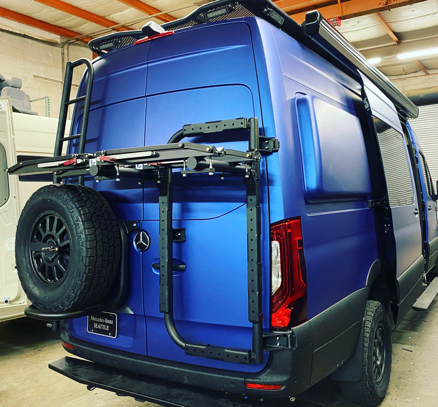 B2 Bike and Cargo Carrier for Sprinter and Revel VS30