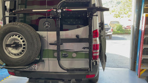 B2 Bike and Cargo Carrier for Sprinter and Revel NCV3 video