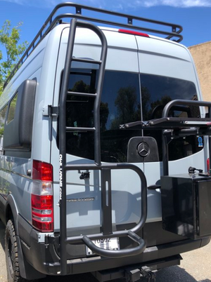 Ladder Tire Carrier for Sprinter NCV3