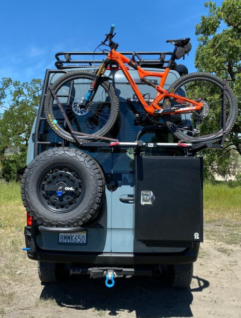 B2 Bike and Cargo Carrier for Sprinter and Revel NCV3
