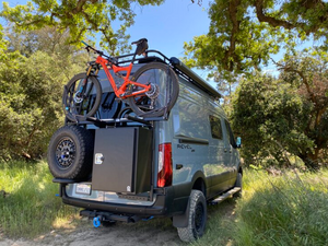 B2 Bike and Cargo Carrier for Sprinter and Revel NCV3 outdoors
