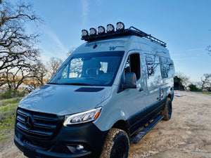 Roof Rack for Sprinter Vans and Revel