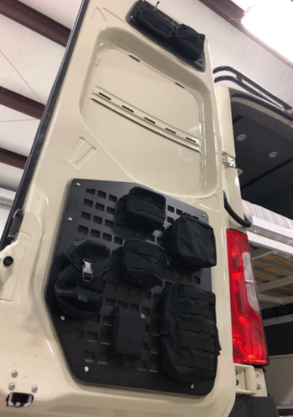 Rear Door Molle Panels