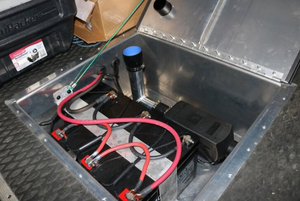 REAR STORAGE TRUNK (2007+ SPRINTER) [VAN COMPASS]
