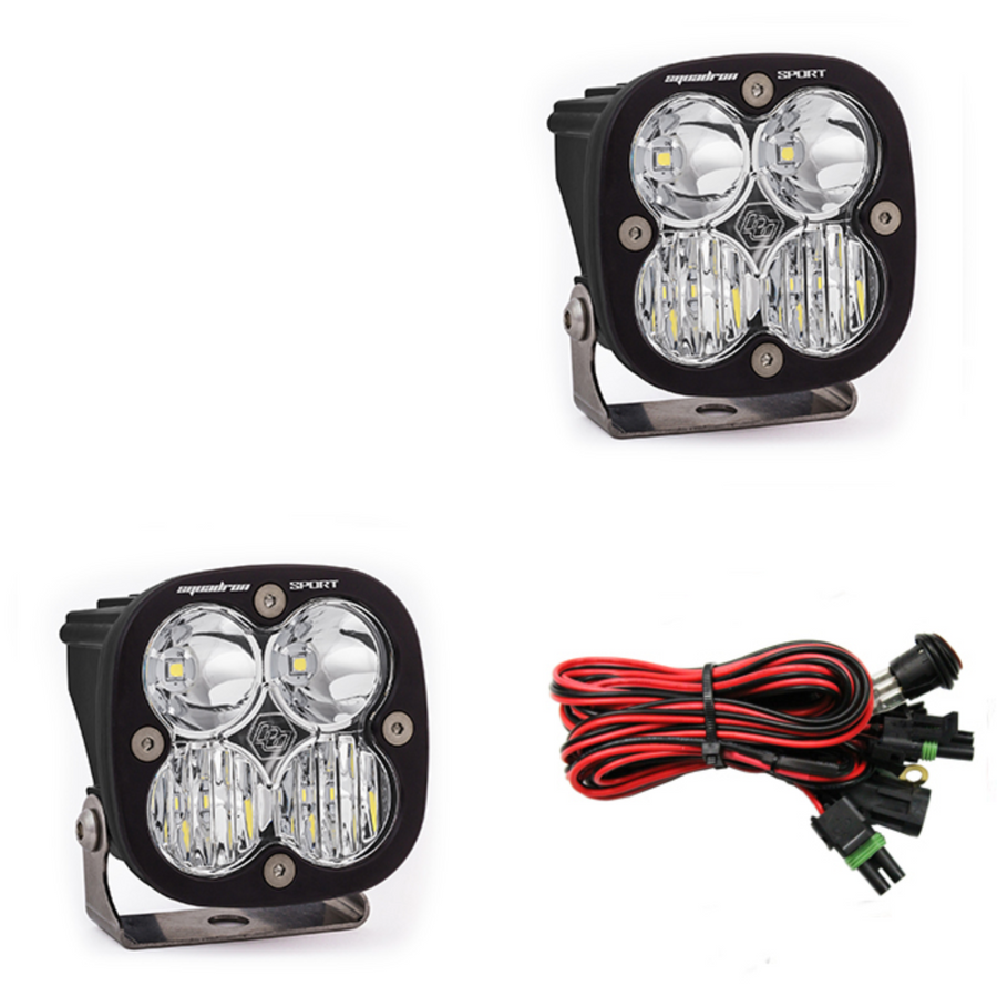 Squadron SAE LED light - Pair [Baja Designs]