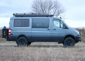 "STAGE 6.3 - VAN COMPASS™ STRIKER 4X4 SPRINTER 2"" LIFT KIT WITH FALCON 3.3 FAST ADJUST SHOCKS AND FRONT SUMO SPRINGS (2007-CURRENT 2500 4WD SINGLE REAR WHEEL)"