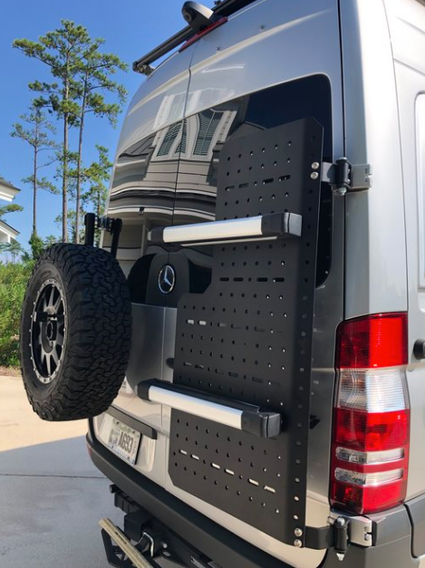 Sherpa Cargo Carrier for Sprinter Van NCV3